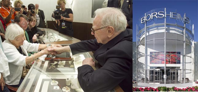 Borsheims Custom  Berkshire Hathaway Memorabilia for Berkshire Hathaway Annual Shareholders Meeting
