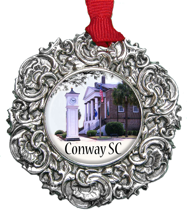 Personalized christmas ornament conway sc designed by