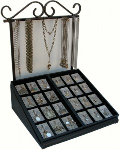 Classic Legacy Handcrafted Jewelry Display Made in the USA