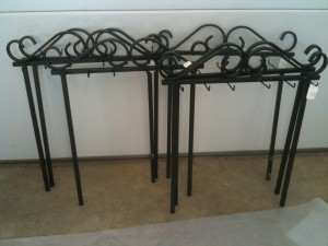 Wrought Iron Display Back for Classic Legacy Jewelry display