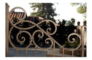 Iron Gate Designed by Jill Turman an Inspiration to Classic Legacy