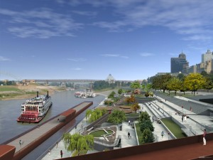 Future Beale Street Landing LookingNorth