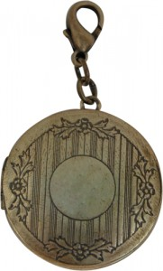 Round Locket Designed by Classic Legacy