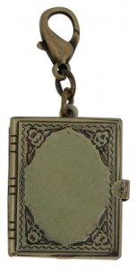 Book Locket For Necklaces by Classic Legacy