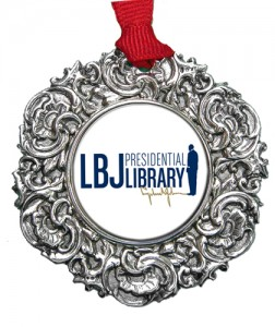 Christmas Ornament with LBJ logo designed by Classic Legacy