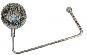 Purse Hanger with Horse Theme Designed by Classic Legacy