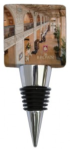 Marble Custom  Wine Bottle Stopper Designed by Classic Legacy for The Brown Hote