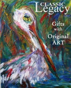 Original Art used to Create Classic Legacy Custom Gifts