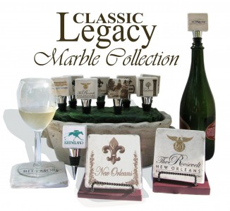 Learn About Classic Legacy Custom Gifts & Marble Bottle Stoppers