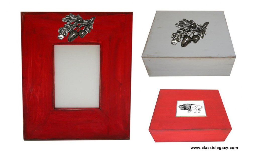 Classic Legacy Wooden Boxes and Frames