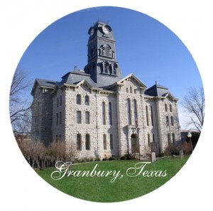 Courthouse in Granbury, Texas