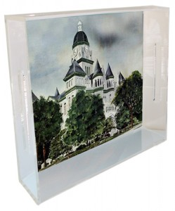 This is how our new tray looks with the Jasper County Courthouse image