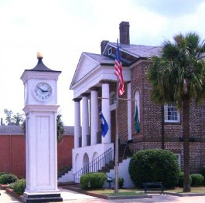 Conway South Carolina  City Hall and Clock Tower