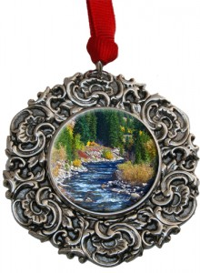 Classic Legacy Christmas Ornament with South Boulder Creek Photo