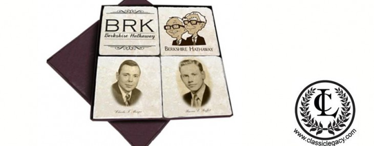 Celebrating Berkshire Hathaway Corporate History with Classic Legacy Custom Marble Coasters