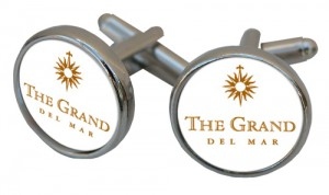 Cuff Links with Grand Del Mar Logo