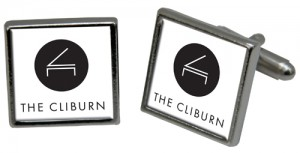 Cuff Link Square The Cliburn