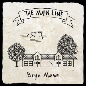 Main Line Train Coasters Bryn Mawr