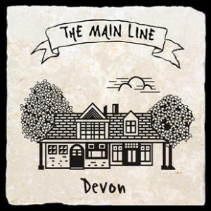 Main Line Train Devon Station