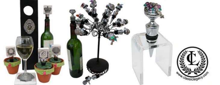 Creative Displays for Wine Bottle Stoppers