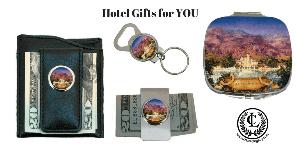 Hotel Gifts for Personal Use designed for Broadmoor Hotel