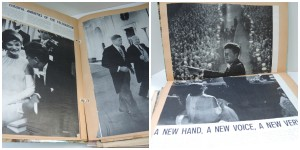 Scrapbook JFK a Young Girl's Memories