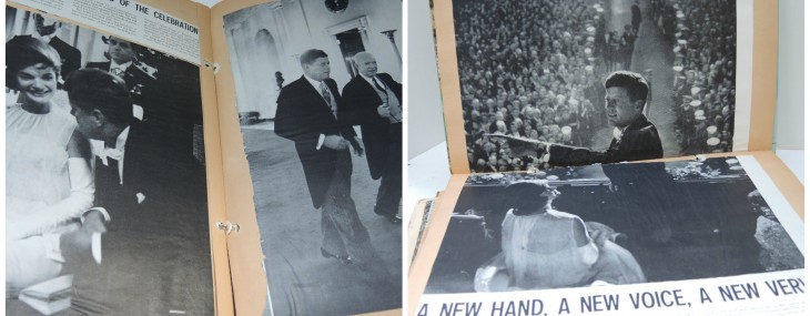 JFK 50 Years Later Reflecting on Memories of a Young Girl's Scrapbook from 1961