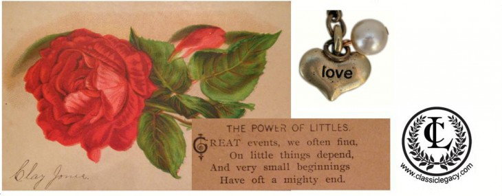"The Power of ""Littles""  Valentines and Custom Gifts"