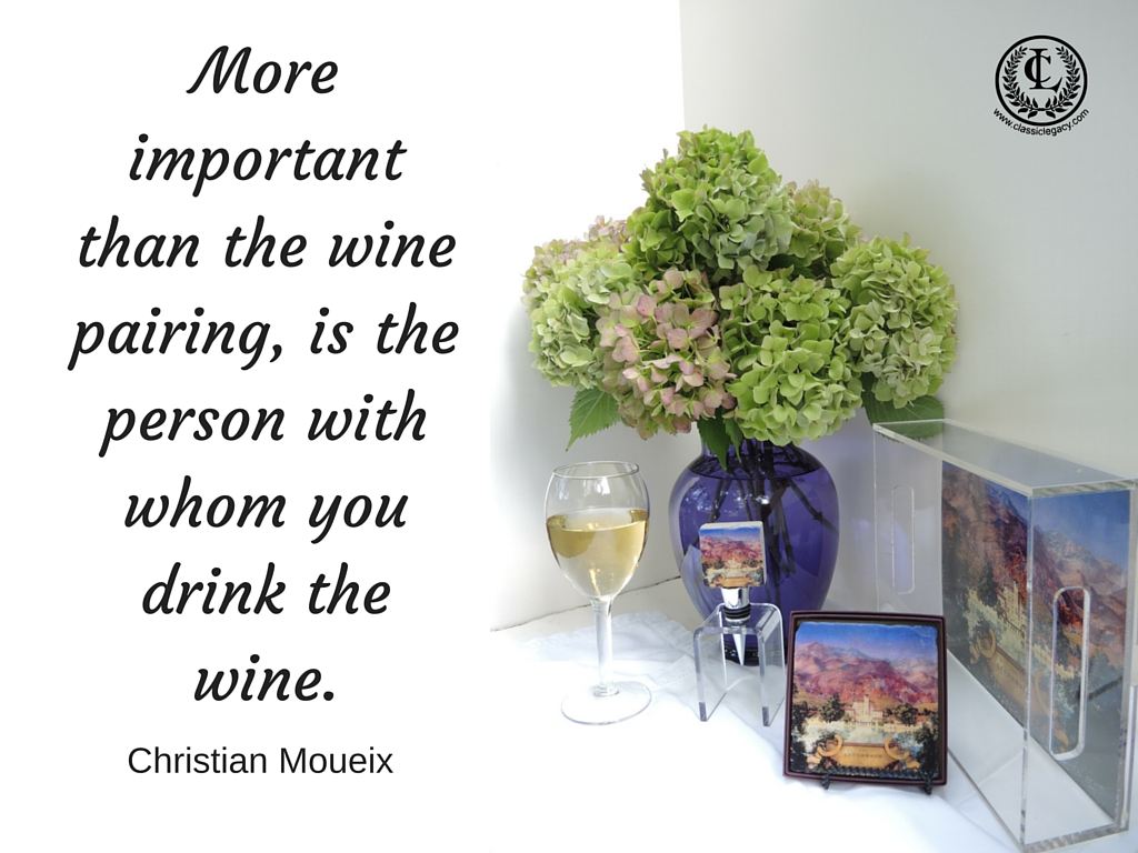 4 More Important than Wine Pairing