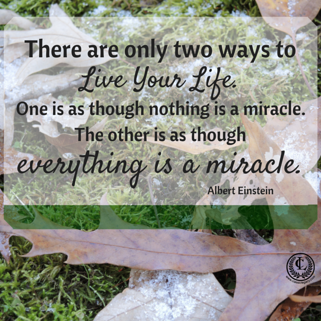 Quotes Everything is a miracle!