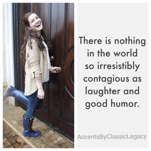 Laughter is irresistible!