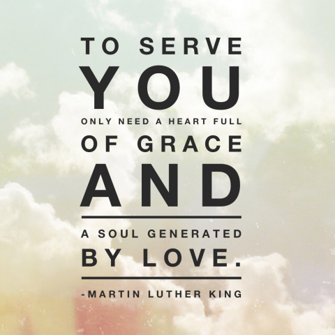 To Serve Generated by love