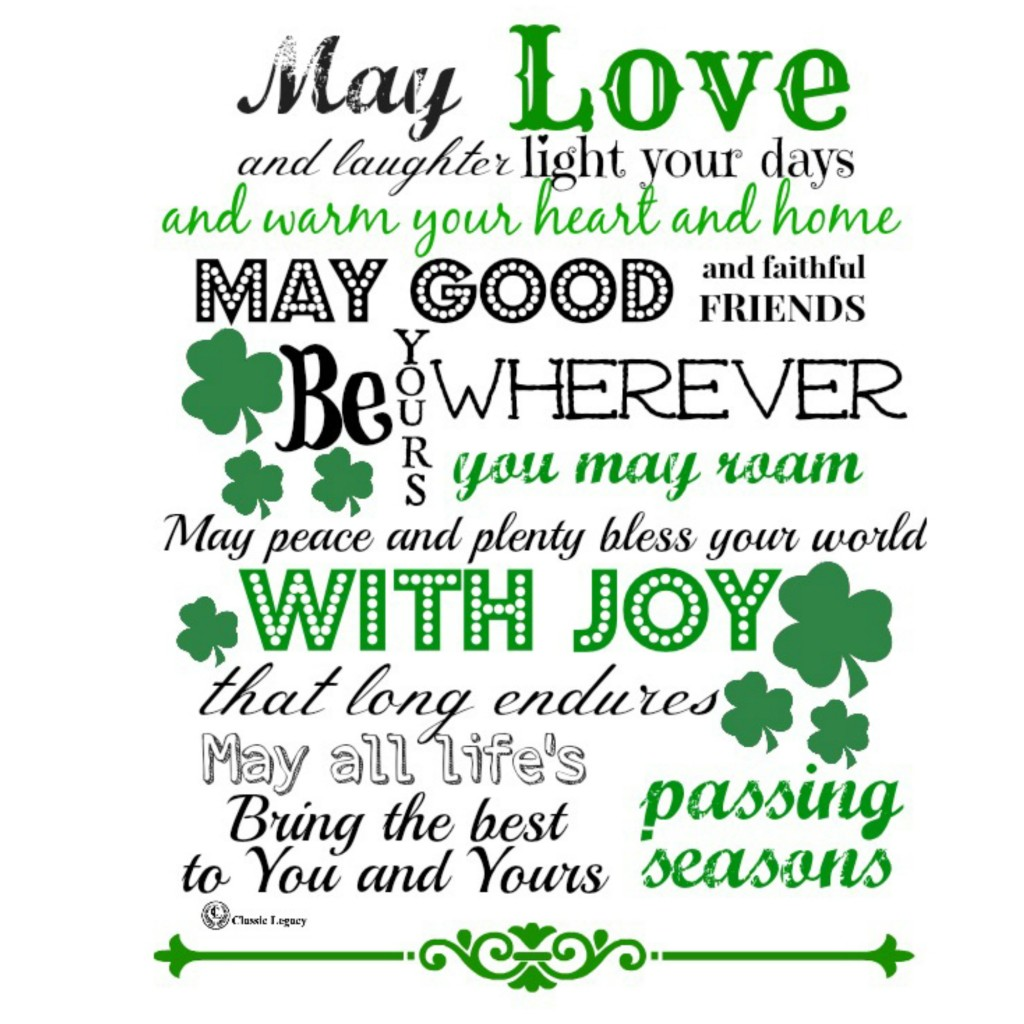 Shareable Quote Irish Love and Laughter