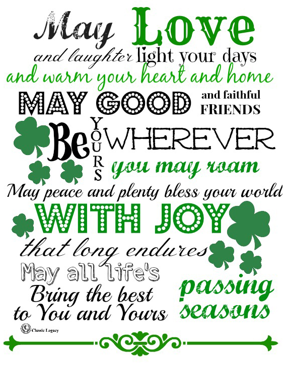 Irish Quotes Amazing Irish Quotes Celebrate Irish Gifts Handmade By Classic Legacy