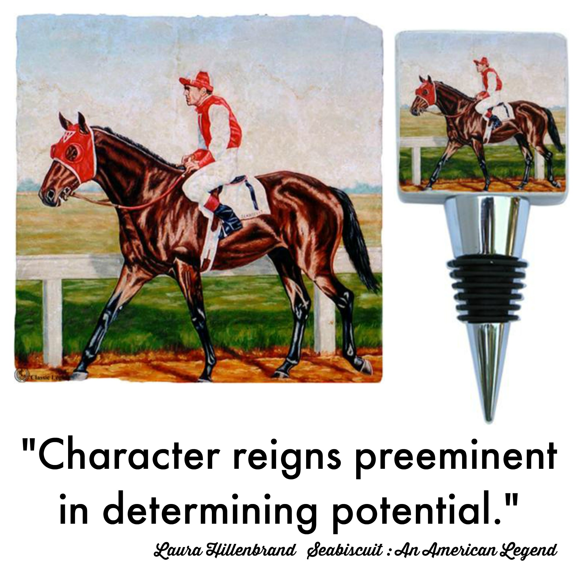 Seabiscuit Race Horse Quote Character Reigns Preeminent
