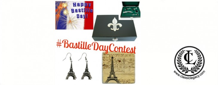 #BastilleDayContest  How a 2 Day Contest is Creating a Buzz for Classic Legacy Custom Gifts