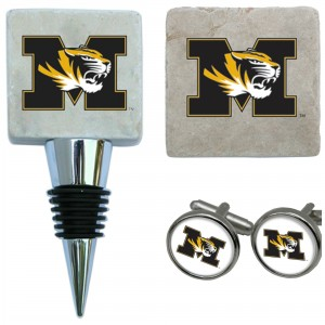 Collage of Mizzou gifts