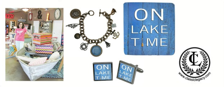 On Lake Time gifts perfect for Lake theme Retailer Lakehouse Outfitters