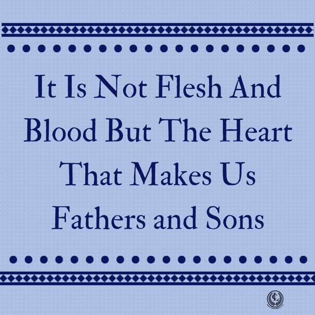 It Is Not Flesh AndBlood But The
