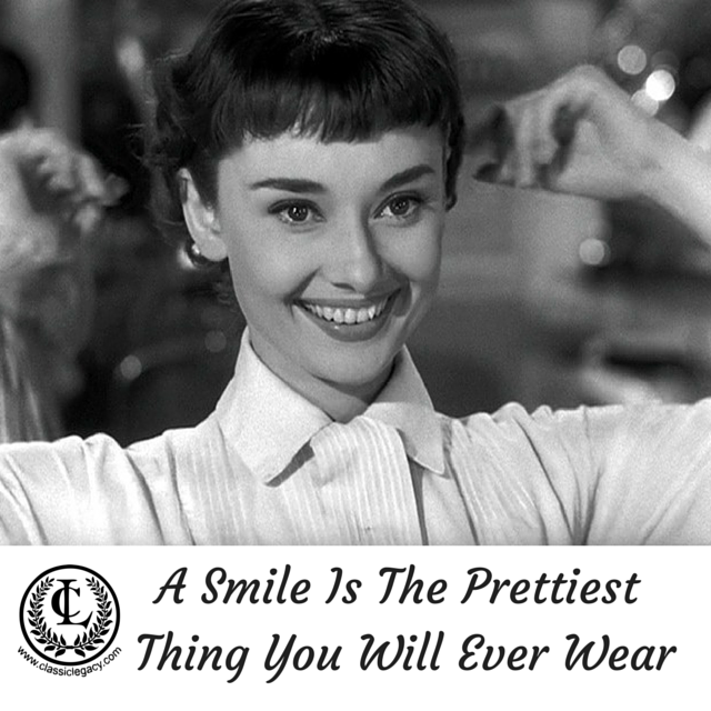 Quote A Smile Is The PrettiestThing You Will Ever Wear