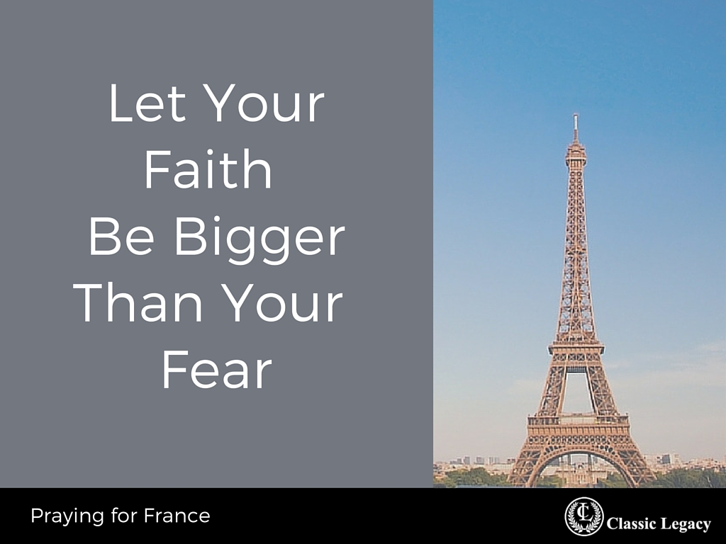 Let Faith be Bigger Than Fear