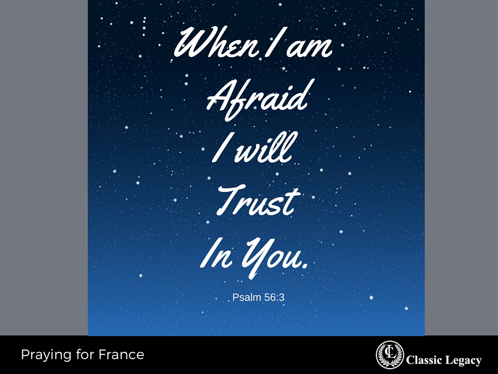 Psalm 51 3 When Afraid Trust in You