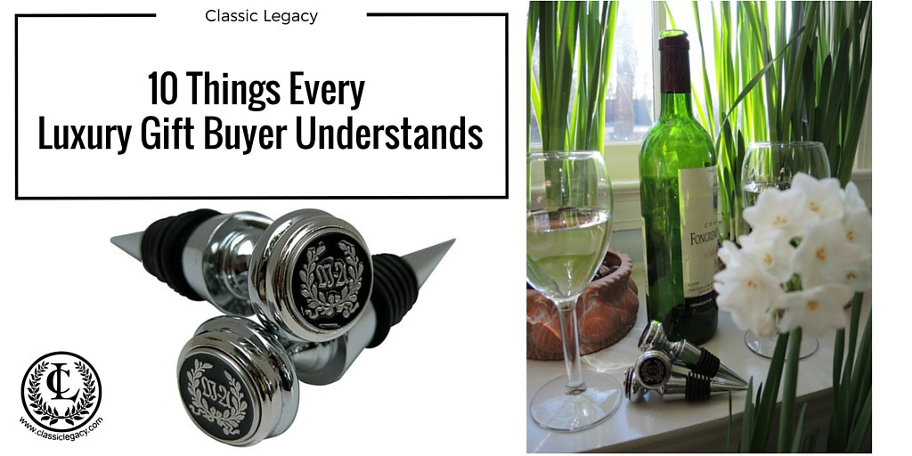 10 Truths about Luxury Gifts from a Buyers Perspective