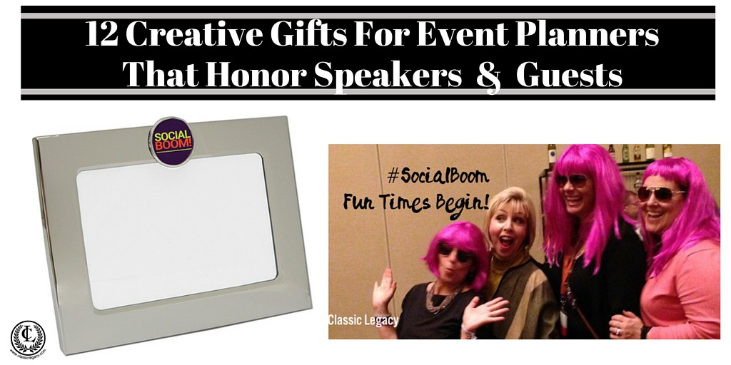 12 Creative Gifts For Event Planners That Honor Speakers And Guests