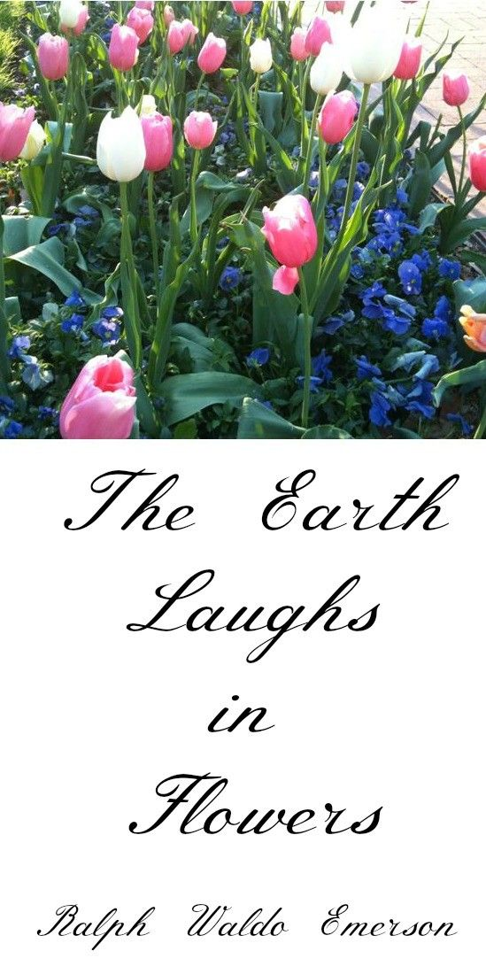 Quote The Earth Laughs with Flowers