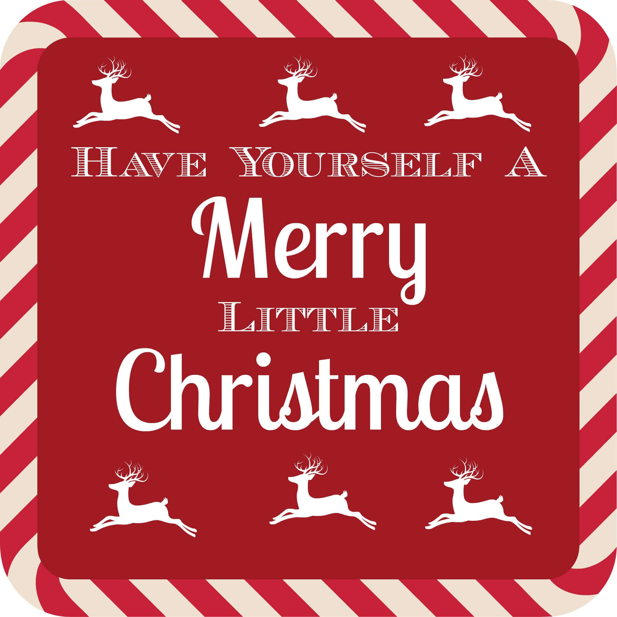 Christmas Quote Have Yourself A Merry Little Christmas
