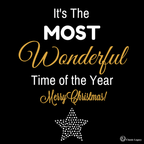 Christmas Quote Most Wonderful Time of The Year