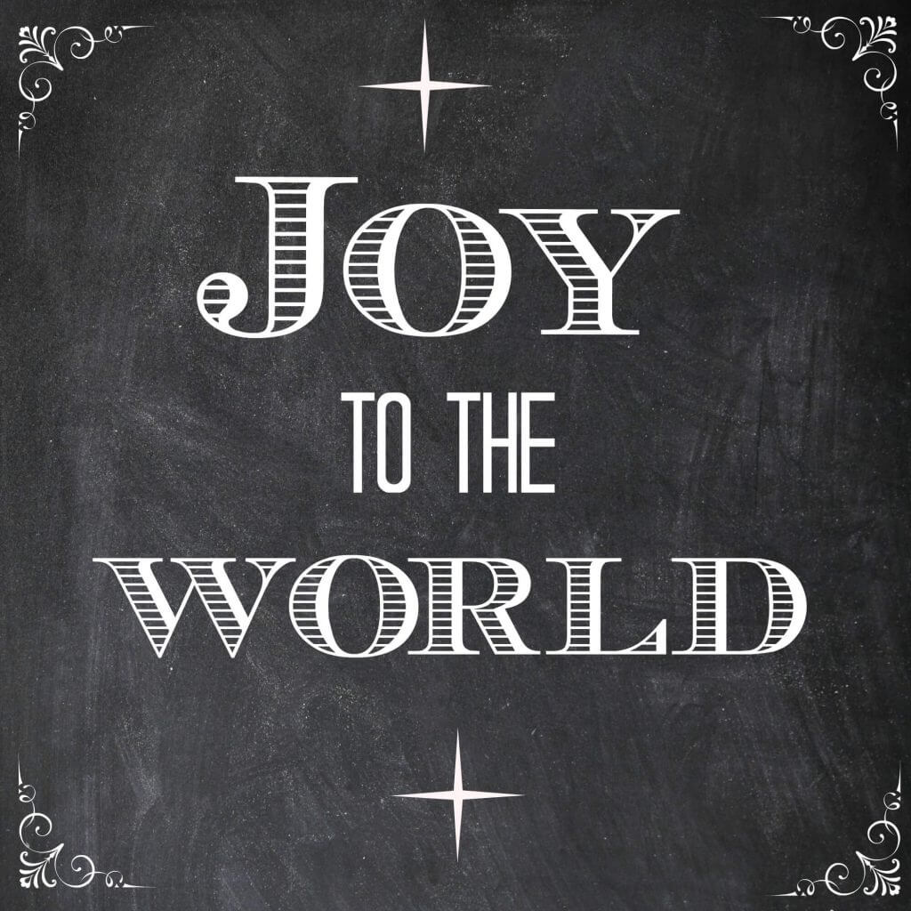 Christmas Quote Joy To The World