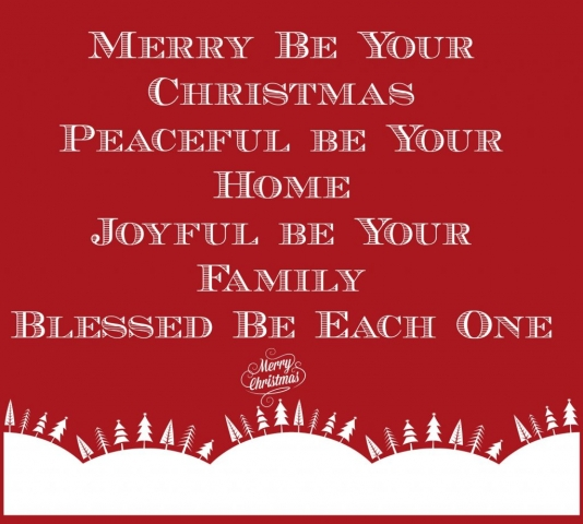 Christmas Quote Merry Be Your Christmas