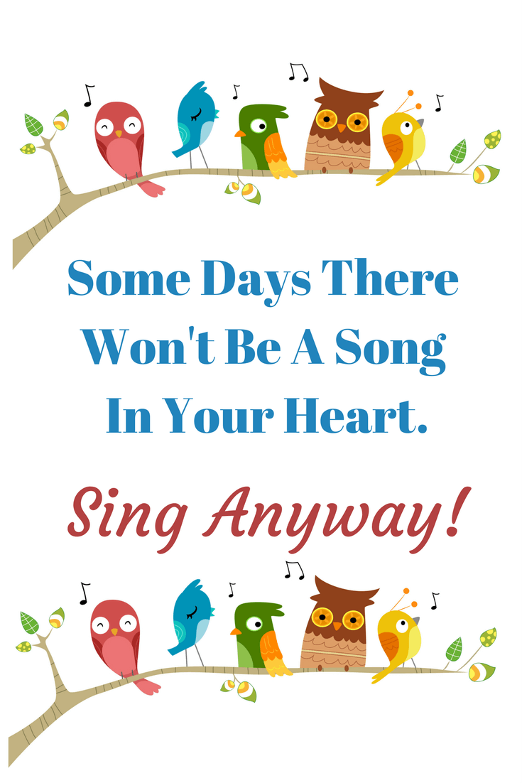 Sing anyway quote